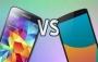 Nexus 6 ve Galaxy S5 Karşılaştırması