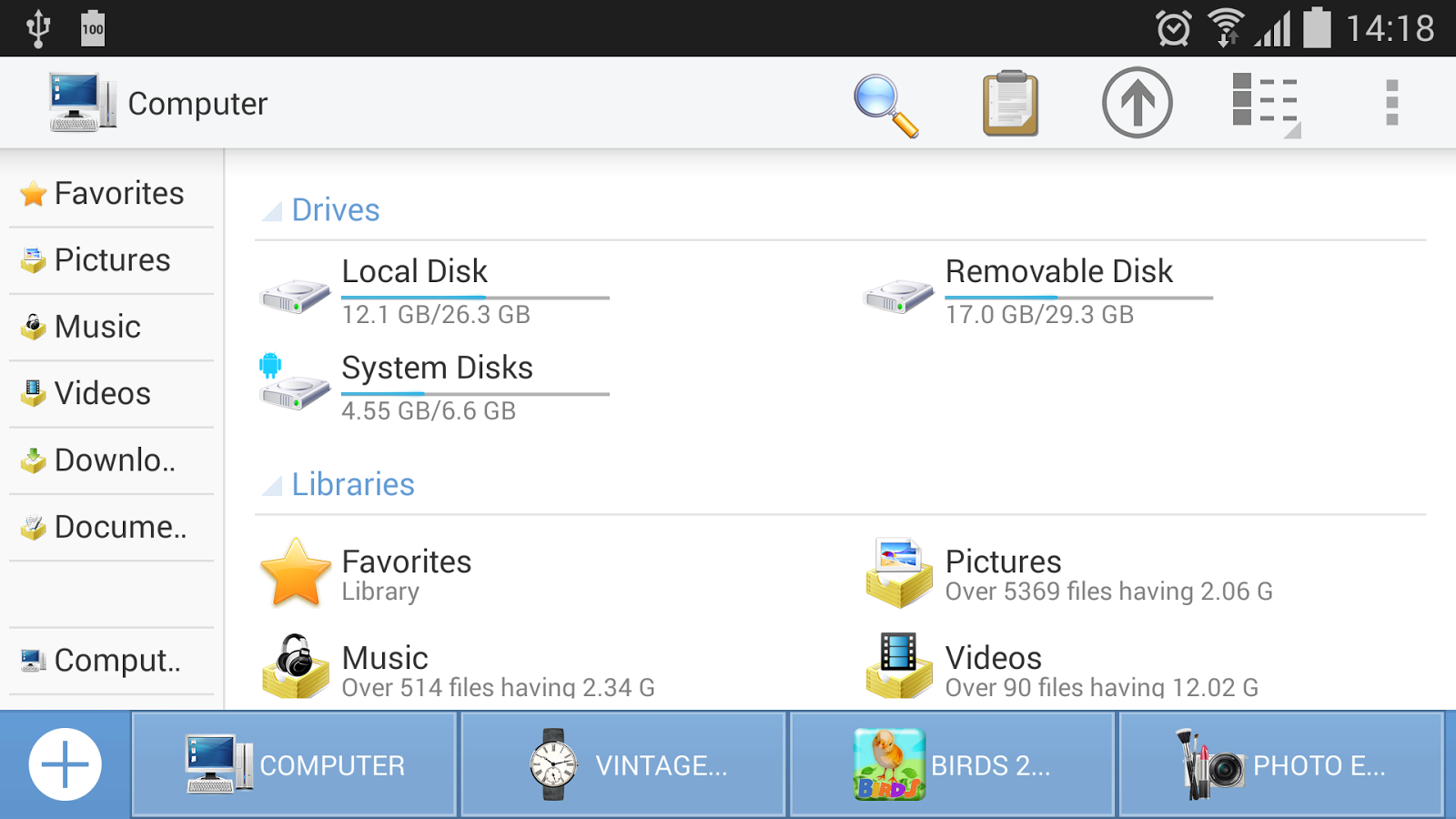 Download <b>ES</b> <b>File</b> <b>Explorer</b> latest 4.2.0.3.4 Android APK