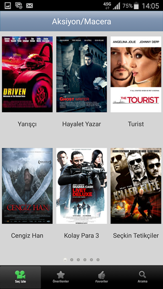 The description Direk Film Izle Apk