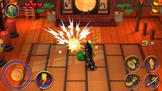 lego ninjago tournament İndir  android için savaş ve