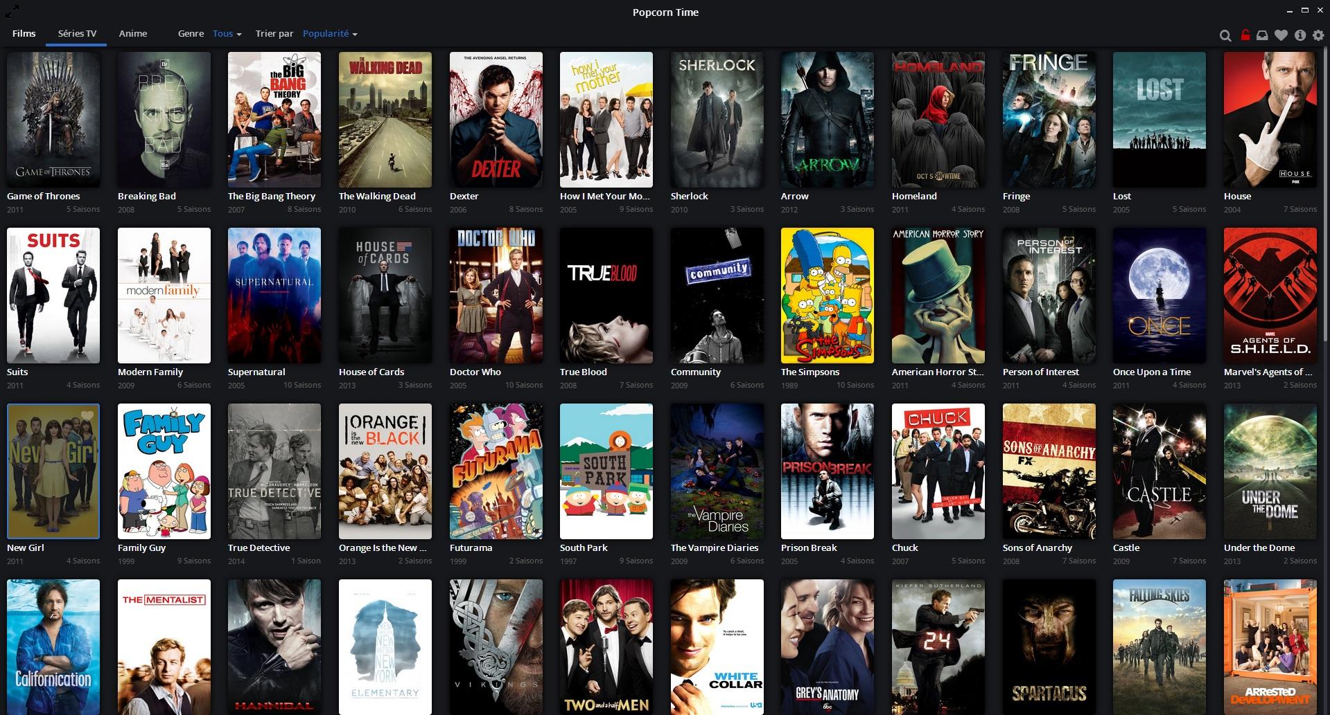 Popcorn Time Torrent Filmleri Anında İzleyin. En iyisi de bedava olması!