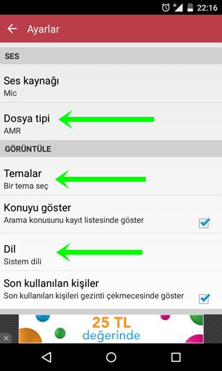 """31 yorum - """"Android ile Görüşme Kaydetme"""""""