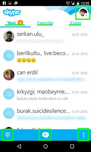 web skype giriş