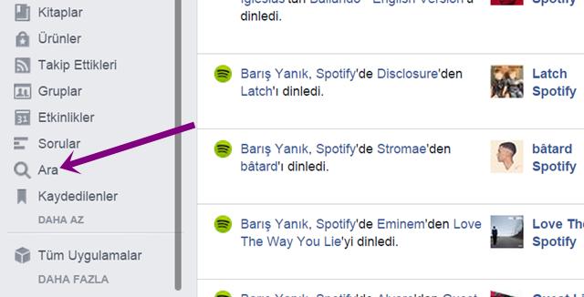 Facebook'ta silinen arama geçmişini tekrar getirme imkanı varmı - KizlarSoruyor