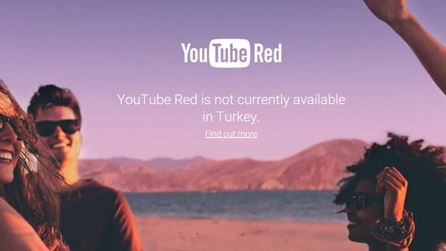 YouTube Red Türkiye