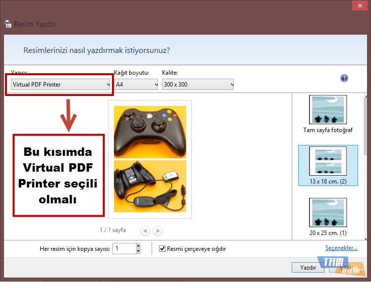 Virtual PDF Printer