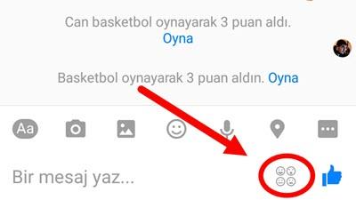 Facebook Messenger ile Basketbol oynayabilirsiniz