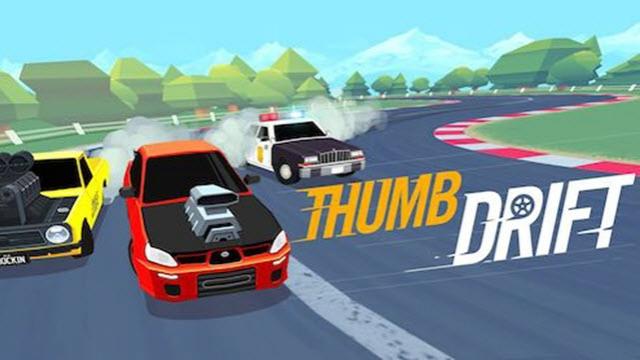 Basit ve Süper Eğlenceli Yarış Oyunu Thumb Drift Android için Çıktı!