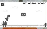 Google Chrome'un Sevilen Dinozor Oyunu Artık Mobil Cihazlarda!