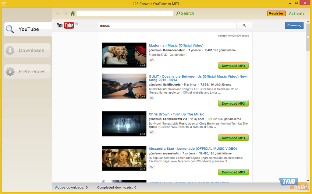 123 Convert YouTube To MP3 ndir Youtube dan Mp3 Kaydetme Program