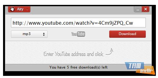 youtube video mp3 indir