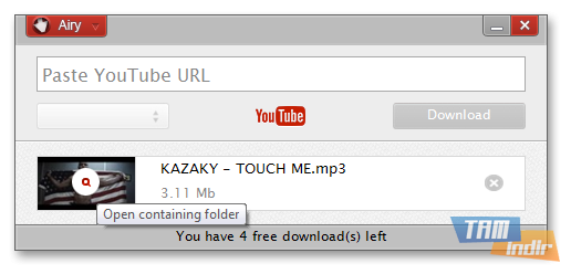 airy youtube downloader serial