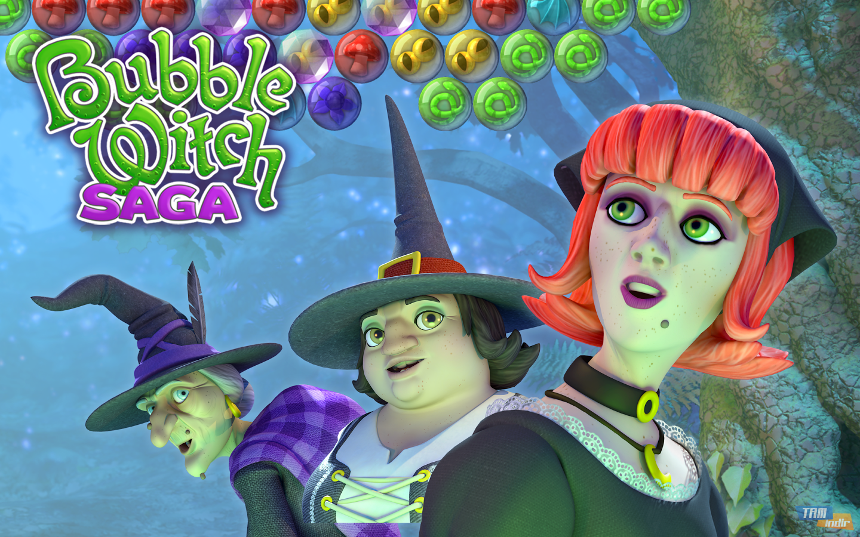 bubble saga witch