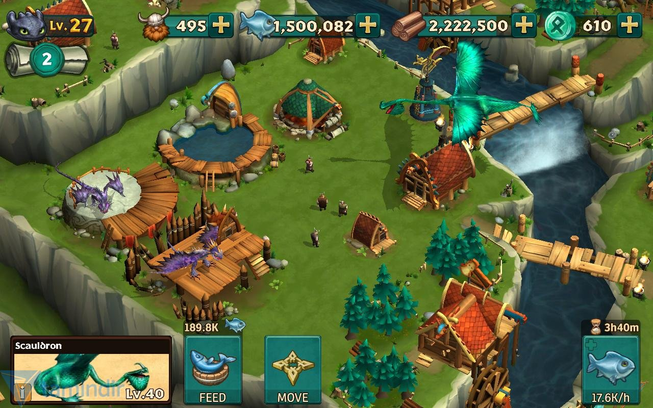 Dragons: Rise of Berk İndir - Android için Ejderha
