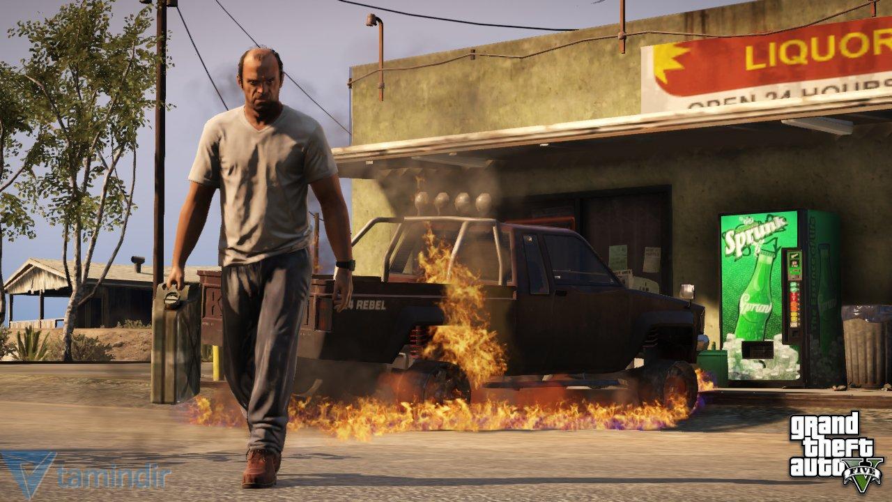GTA 5 (Grand Theft Auto 5) İndir - Aksiyon ve Macera Oyunu - Tamindir