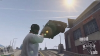 GTA 5 Gravity Gun Mod