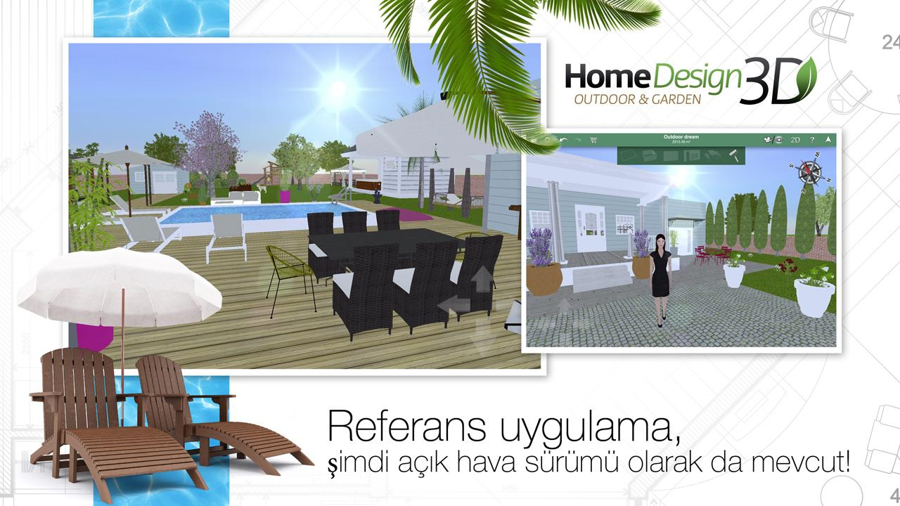 Backyard Design App For Ipad: Home Design 3D Outdoor & Garden İndir