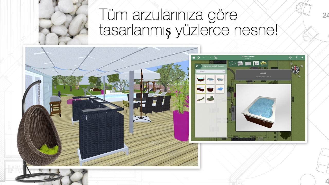 Home design 3d outdoor garden ndir iphone ve ipad for Home design 3d outdoor garden gratuit