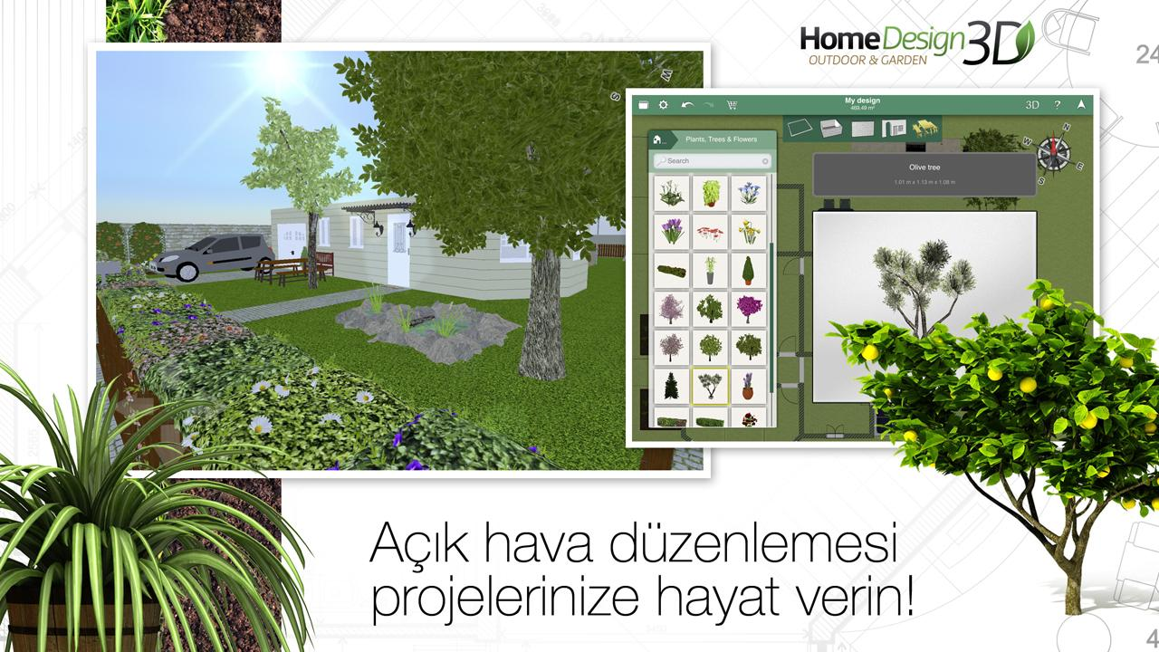 Home design 3d outdoor garden ndir iphone ve ipad for Home design 3d outdoor garden full version apk
