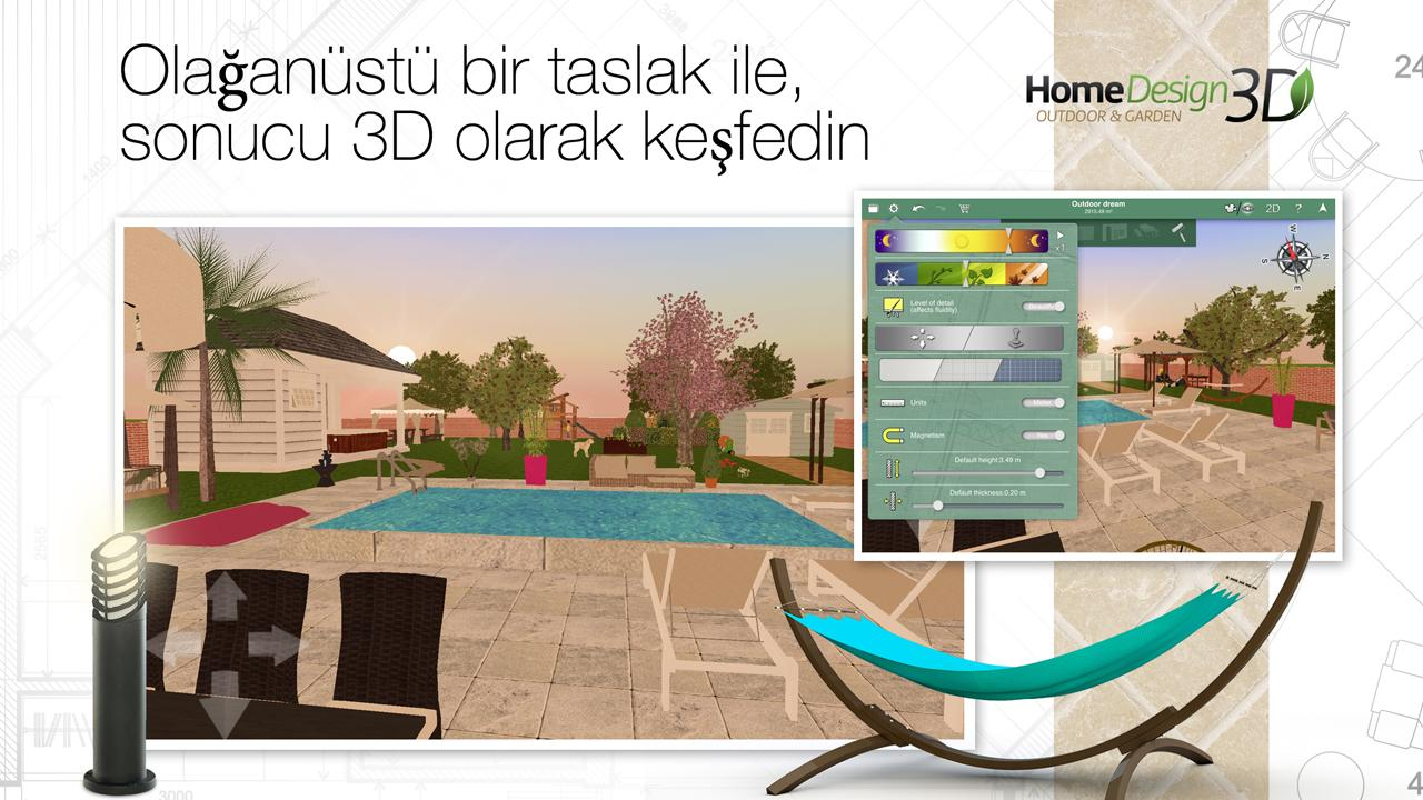 Home Design 3D Outdoor & Garden İndir - Android için 3 ...