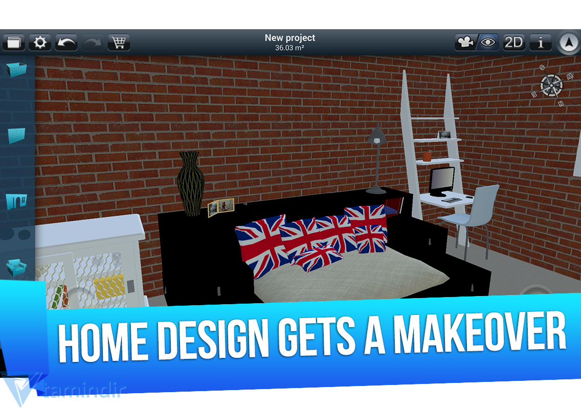Home Design 3d Ndir Android I In Ev Dekore Etme Uygulamas Tamindir