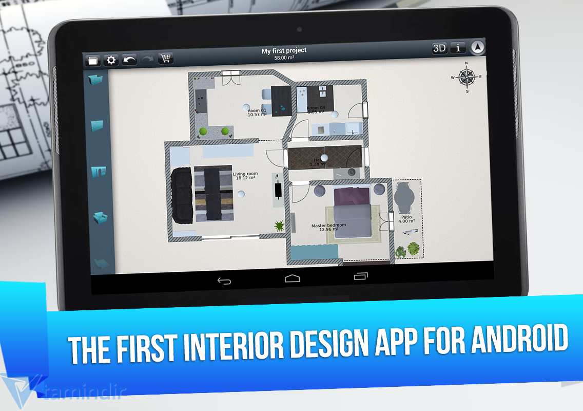 Home Design 3d Ndir Iphone Ve Ipad I In Ev Dekorasyonu