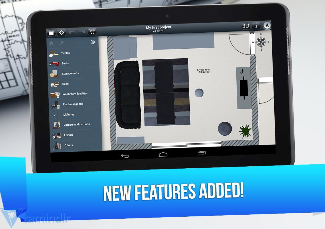 Home design 3d ndir iphone ve ipad i in ev dekorasyonu for Home design 3d ipad