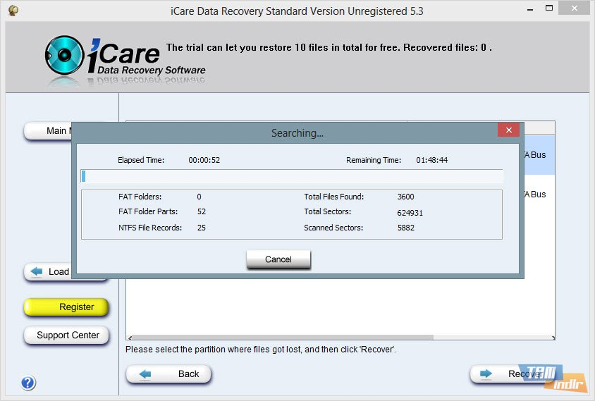 icare data recovery free Archives
