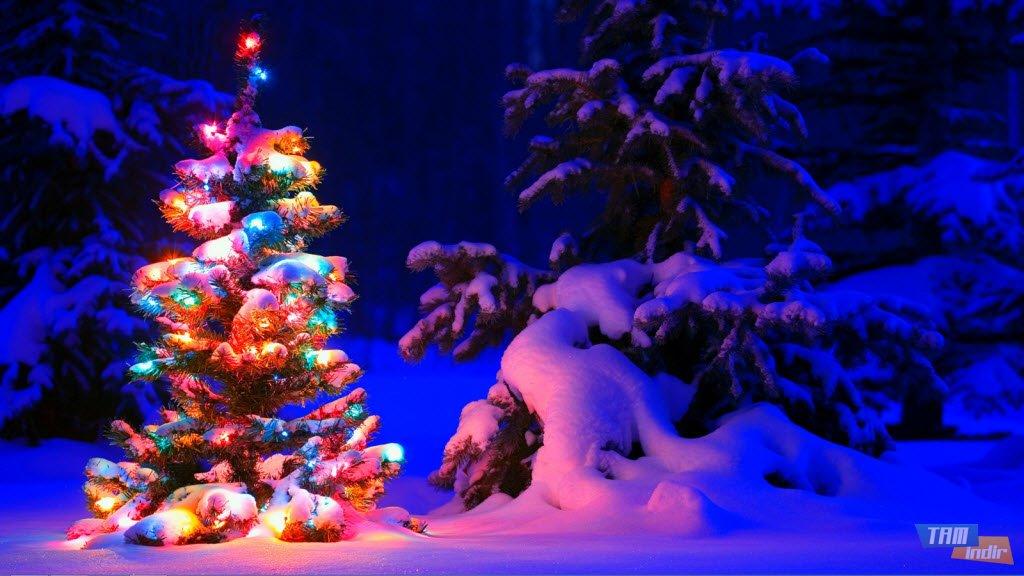 Karlı Gece Teması İndir - Windows 7 ve Windows 8 için Ücretsiz ...