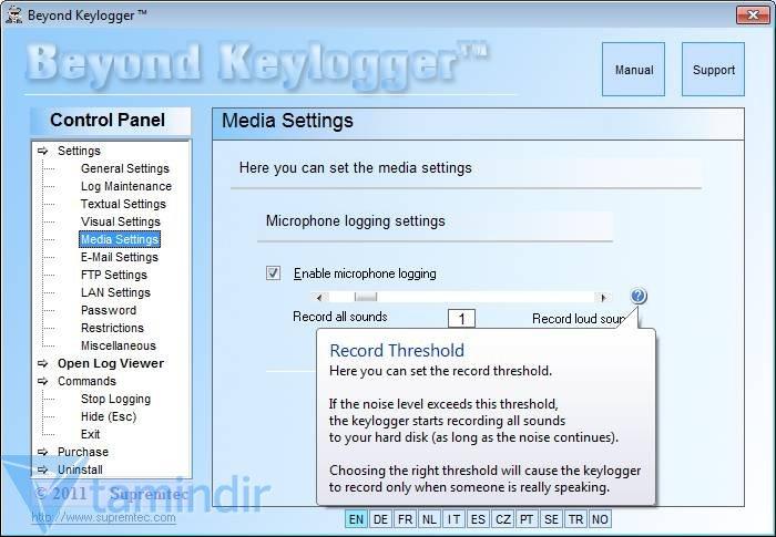 Spyrix Free Keylogger indir Ücretsiz Keylogger Programı