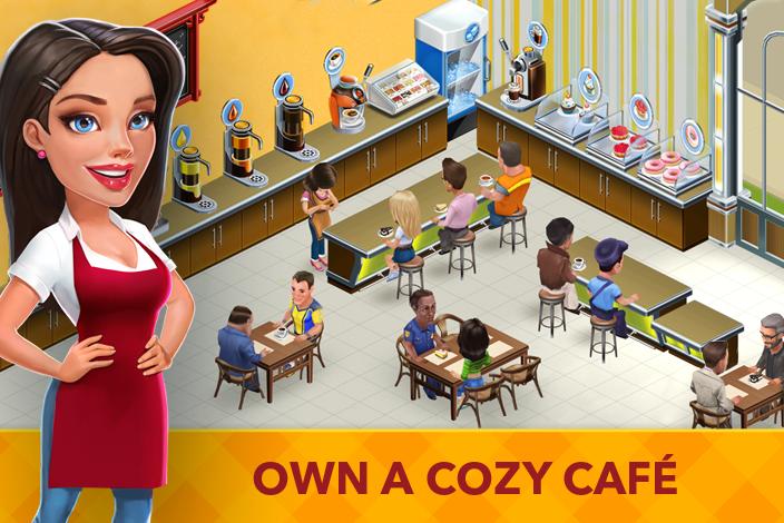 Как быстро заработать деньги в игре my cafe