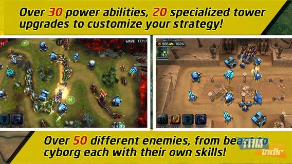 Nova defence ekran görüntüleri