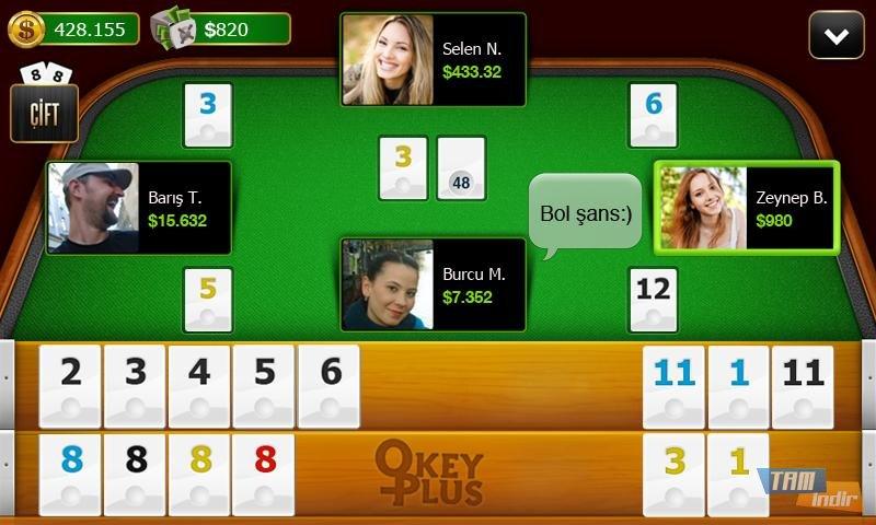 Okey Plus İndir - Android için Online Okey Oyunu (Mobil