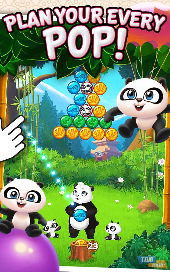 panda pop ndir android i in cretsiz balon patlatma oyunu mobil tamindir. Black Bedroom Furniture Sets. Home Design Ideas