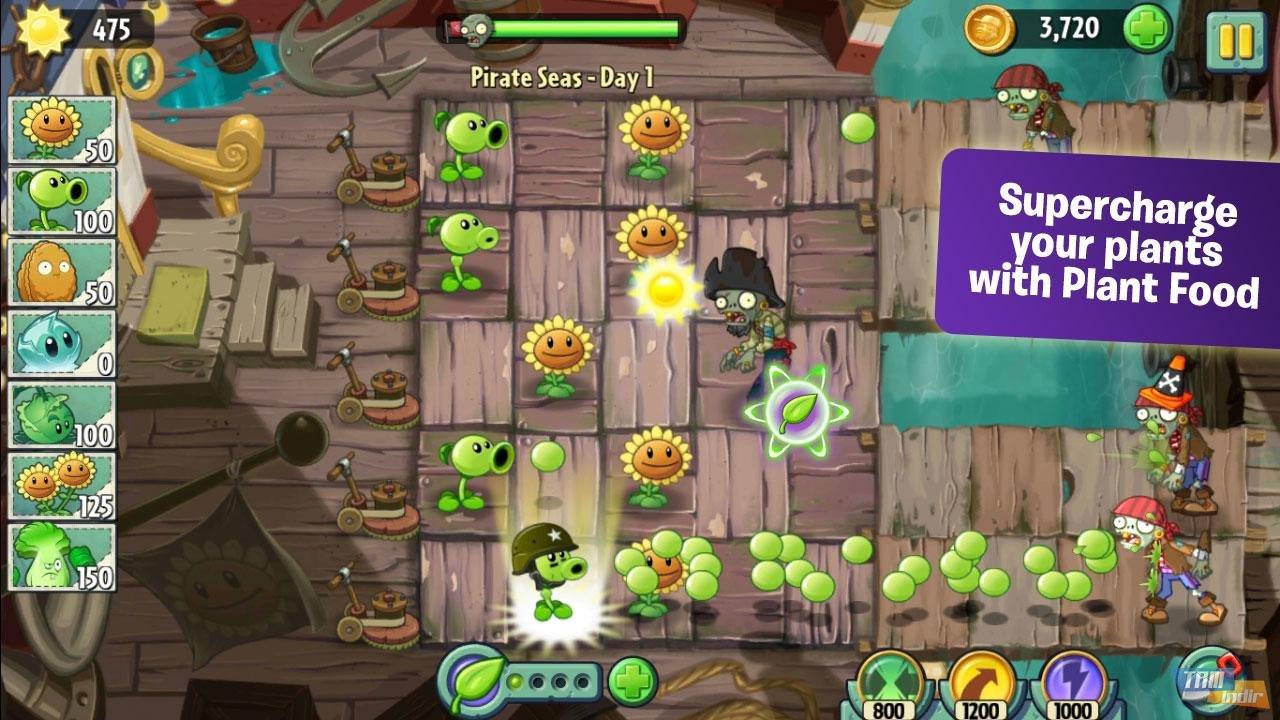 Plants vs zombies 2 yazıları