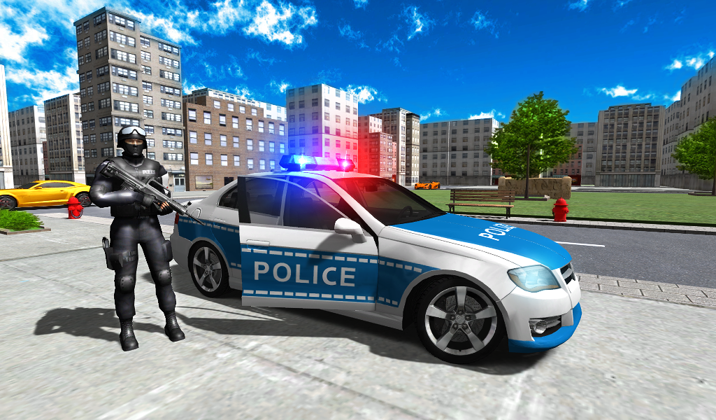 police car driver city ndir android i in polis oyunu mobil tamindir. Black Bedroom Furniture Sets. Home Design Ideas