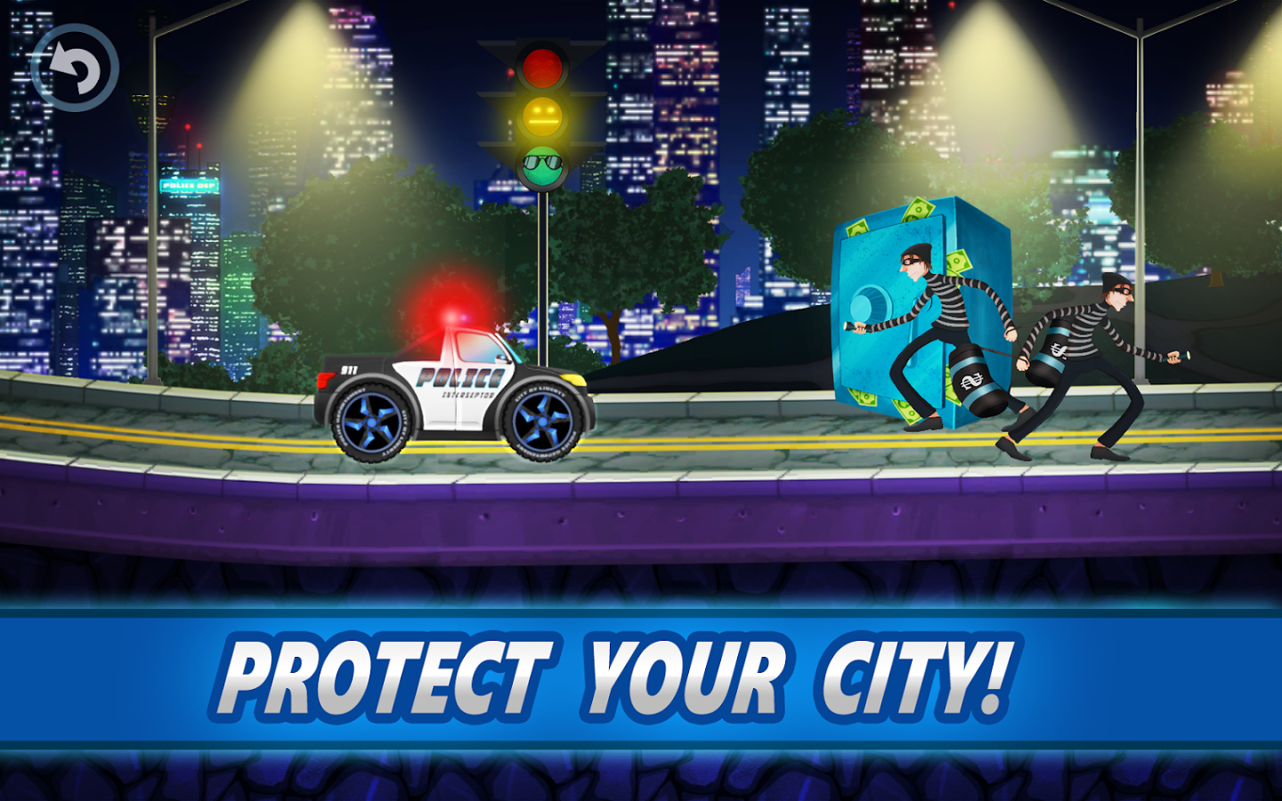 Police car racing for kids ndir android i in polis for Motor racing for kids