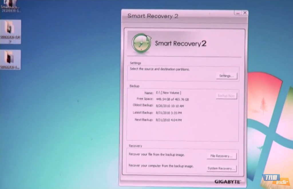 Active file recovery windows key
