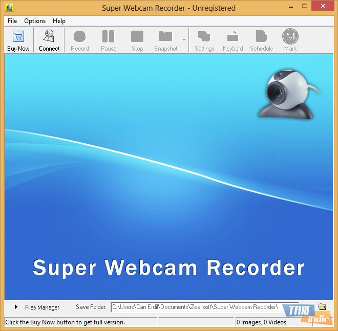 Record pics with your webcam using picasa