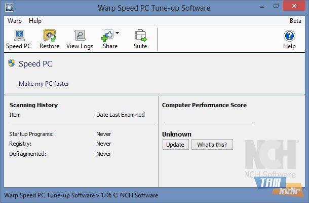 warp speed pc tune up software ndir cretsiz bilgisayar h zland rma program tamindir. Black Bedroom Furniture Sets. Home Design Ideas