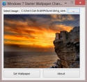 Windows 7 Starter Wallpaper Changer