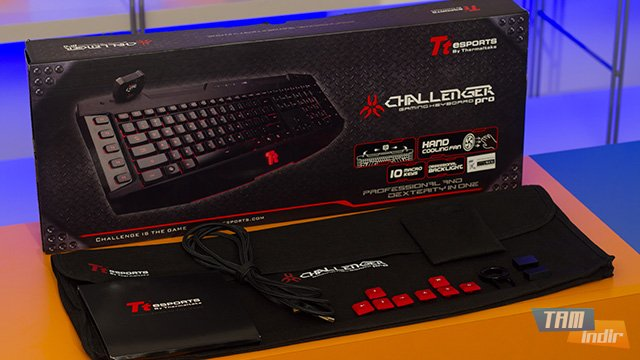 Thermaltake TT eSports Challenger Pro Oyuncu Klavyesi
