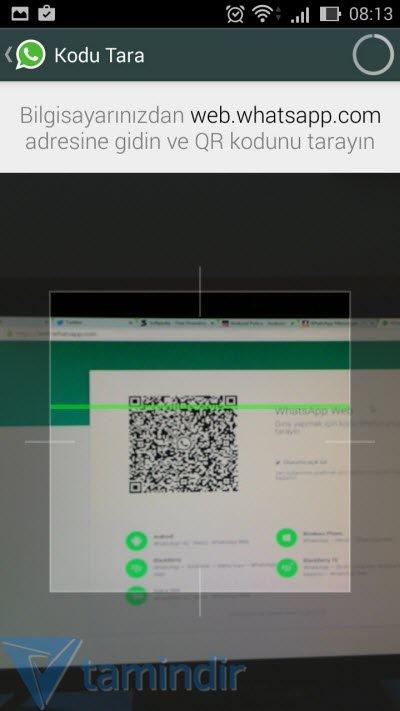 whatsapp bilgisayardan izleme