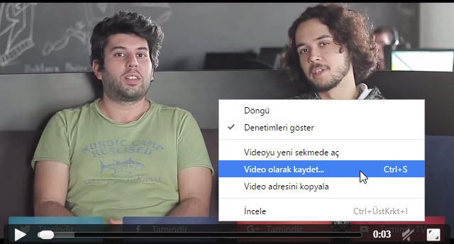 Youtube Videoları Programsız Nasıl İndirilir?