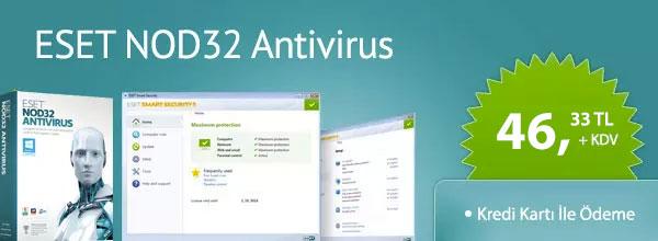 Eset Nod32 AntiVirus Satın Al