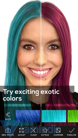 Hair Color Studio ?ndir - iPhone Ve iPad ??in G?zellik Uygulamas? ...