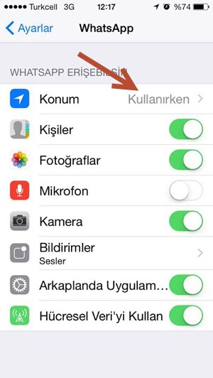 iphone 6s whatsapp önizleme