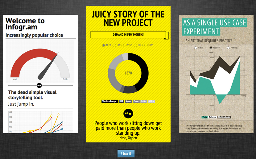 Infogram Create Infographics Reports and Maps