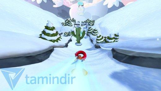 Club Penguin Sled Racer Ekran Görüntüleri