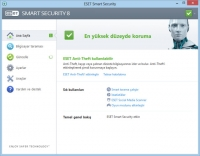 ESET Smart Security Açılış Ekranı